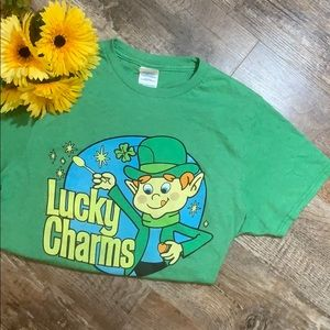 Lucky Charms | Retro Cereal Tee Shirt